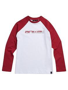 animal-boys-bert-long-sleeve-contrast-t-shirt-red