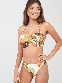 Figleaves Figleaves Classic Bikini Bottom - Coral Picture