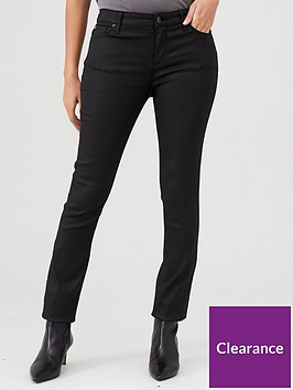 armani-exchange-5-pocket-pants-super-skinny-jeans-black