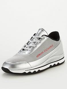 armani-exchange-low-cut-logo-trainers-silver