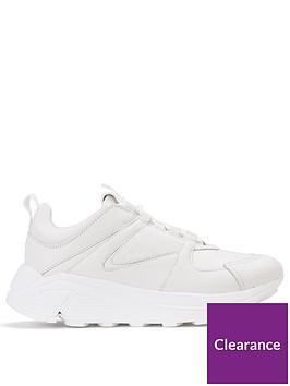 hugo-horizon-chunky-trainer-white