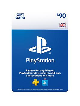 Playstation 4   Psn £90.00 Wallet Top Up - Digital Download