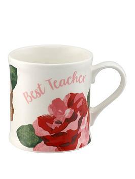 cath-kidston-cath-kidston-bestteacher-boxed-mug-chiswick-rose