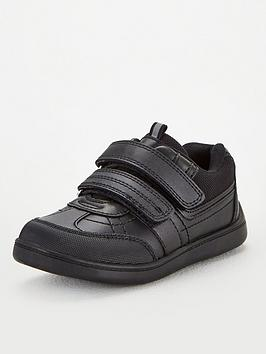 V by Very V By Very Toezone At V By Very Boys Twin Strap Leather School  ... Picture