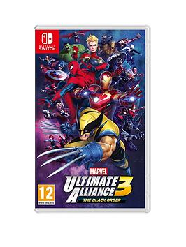 Nintendo   Marvel Ultimate Alliance 3 : The Black Order - Switch