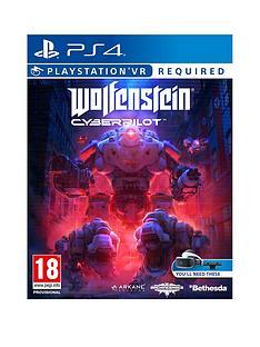 playstation-wolfenstein-cyberpilot-playstation-vr-required-ps4
