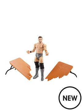wwe-wrekkin-the-miz-kicking-table