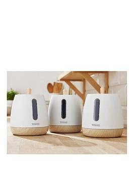Tower Tower Scandi Set Of 3 Storage Canisters &Ndash; White Picture