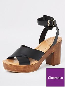 river-island-river-island-leather-cross-platform-sandal-black