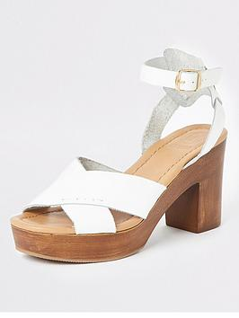 river-island-river-island-leather-cross-platform-heel-sandals-white