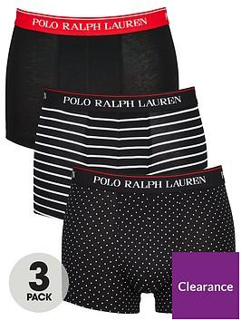 polo-ralph-lauren-3-pack-of-stripedot-trunks-black