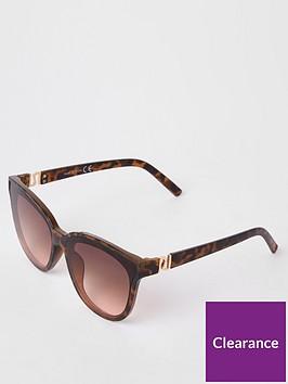 river-island-river-island-tortoiseshell-oversized-sunglasses-brown