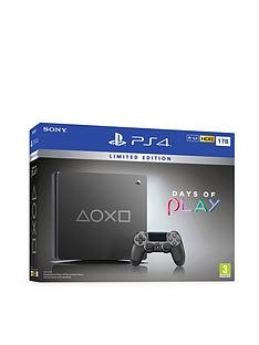 playstation-days-of-play-special-edition-ps4-1tb-and-optional-extras
