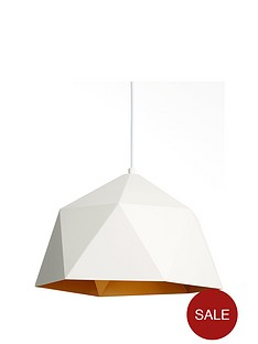 white-geo-ceiling-pendant-fitting