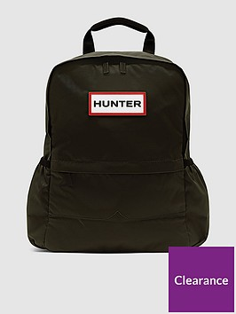 hunter-nylon-original-backpack-dark-olive