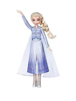 Disney Frozen Disney Frozen Singing Elsa Fashion Doll Picture
