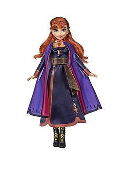 Disney Frozen Disney Frozen Singing Anna Fashion Doll Picture