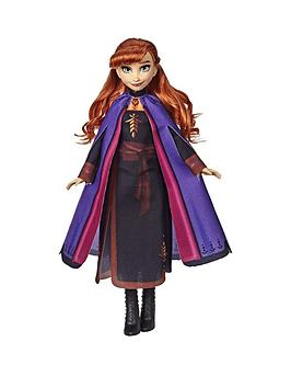Disney Frozen Disney Frozen Anna Fashion Doll With Long Red Hair And  ... Picture