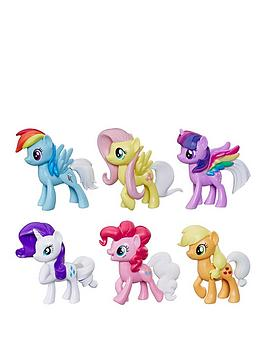 my-little-pony-my-little-pony-toy-rainbow-tail-surprise-collection-pack-of-6-3-inch-pony-figures-with-colour-change-features