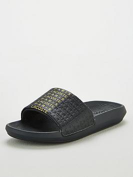 lacoste-croco-slide-319-cfa-slide-blackgold