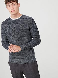 v-by-very-twisted-yarn-crew-jumper-navy