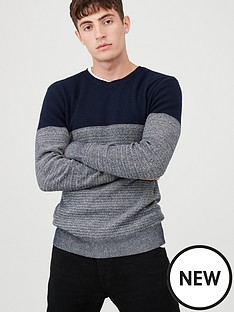 v-by-very-fisherman-colour-block-crew-neck-jumper-navywhite