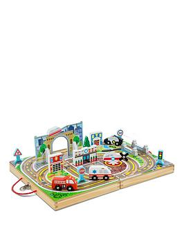 Melissa & Doug Melissa & Doug Takealong Table Top Town Picture