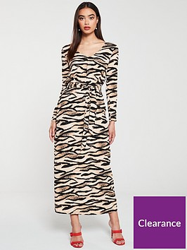 v-by-very-belted-crinklenbspmaxi-dress--nbspleopardnbsp