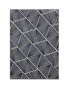 midnight-rose-triangles-rug