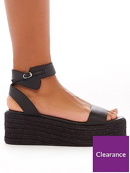 public-desire-jeni-flatform-wedge-sandals-black