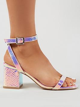 public-desire-celine-heeled-sandals-multi