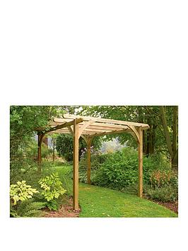 FOREST Forest Ultima Pergola Kit 2.7 X 2.7M Picture