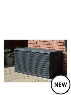 forest-rattan-effect-garden-storage-box