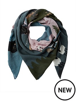 joules-atmore-location-scarf-pink