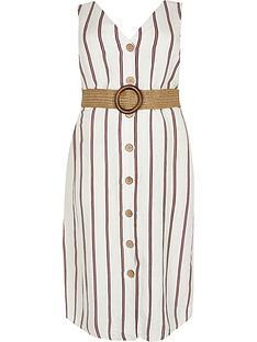 ri-plus-stripe-belted-linen-dress--white