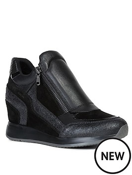geox-d-nydame-a-leather-wedge-trainers-black