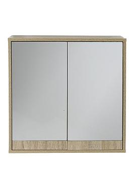 Lloyd Pascal Lloyd Pascal Canyon Mirrored Bathroom Wall Cabinet Picture