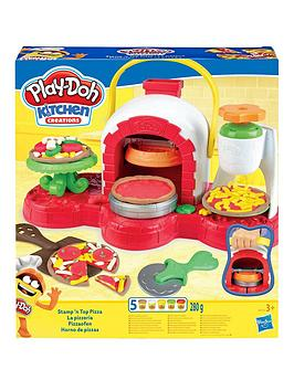 Play-Doh Play-Doh Stamp 'N Top Pizza Oven Toy Picture