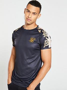 sik-silk-raglan-gym-t-shirt-black