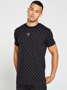 sik-silk-reverse-collar-t-shirt
