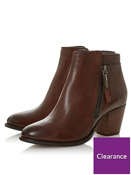 dune-london-wide-fit-ponntoon-side-zip-stack-heel-ankle-boots-brown