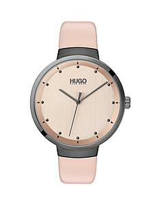 hugo-hugo-go-carnation-gold-and-grey-detail-dial-pink-leather-strap-ladies-watch