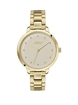 HUGO Hugo Hugo Achieve Champagne Dial Gold Stainless Steel Bracelet Ladies  ... Picture