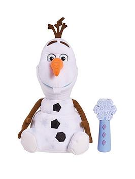 Disney Frozen Disney Frozen 2 Follow Me Friend Olaf Feature Plush Picture