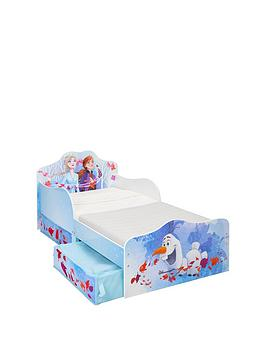 Disney Frozen Disney Frozen Toddler Bed With Storage Drawers By Hellohome Picture