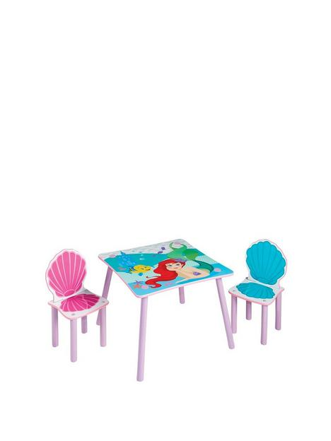 disney-princess-ariel-kids-table-and-2-chairs-by-hellohome