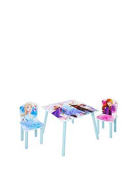 Disney Frozen Disney Frozen Kids Table And 2 Chairs By Hellohome Picture