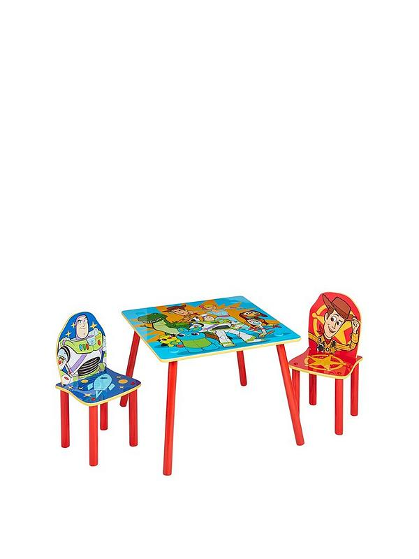 Toy Story 4 Kids Table And 2 Chairs Set By Hellohome Littlewoods Com