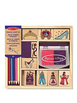 Melissa & Doug Melissa & Doug Princess Stamp Set Picture
