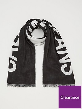 calvin-klein-jeans-supporter-scarf-black-beauty
